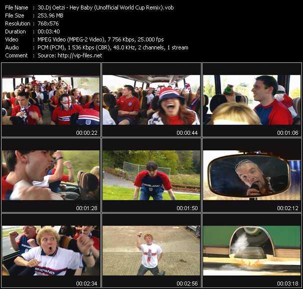 Dj Oetzi video screenshot