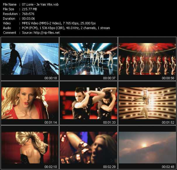 Lorie video screenshot
