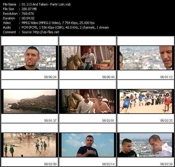 113 And Taliani video screenshot