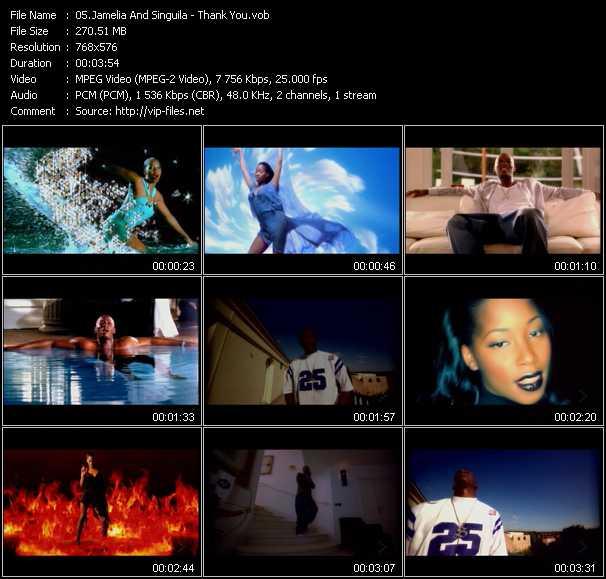 Jamelia And Singuila video screenshot