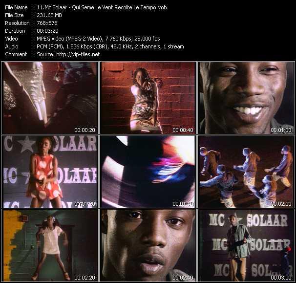Mc Solaar video screenshot