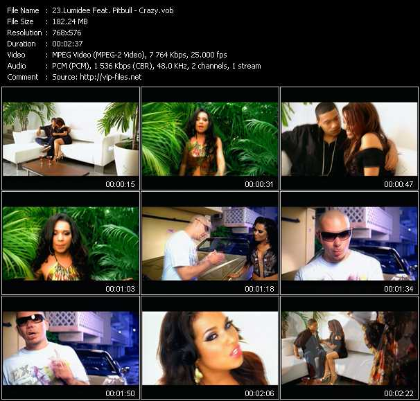 Lumidee Feat. Pitbull video screenshot