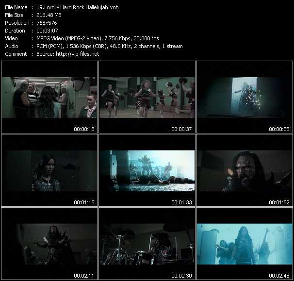 Lordi video screenshot