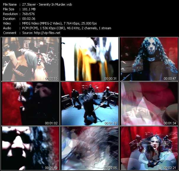 Slayer video screenshot