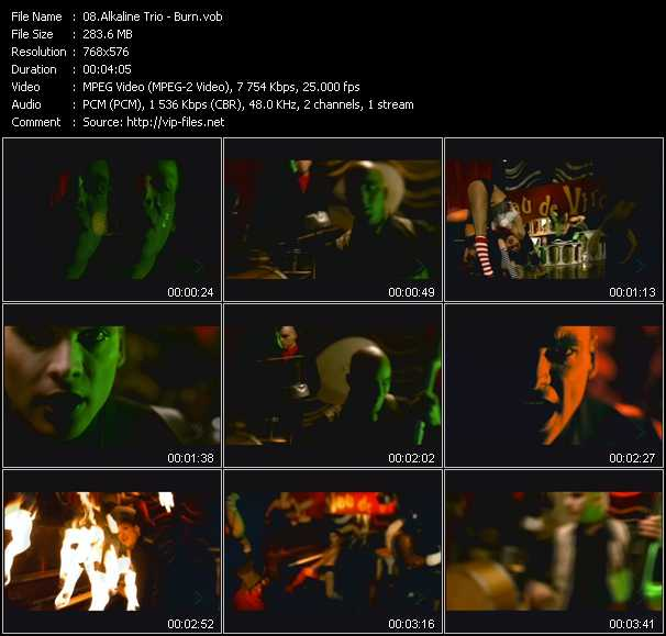 Alkaline Trio video screenshot