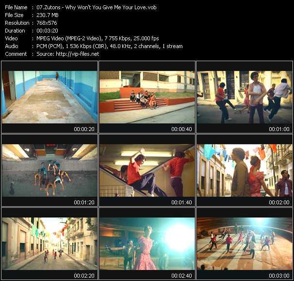 Zutons video screenshot