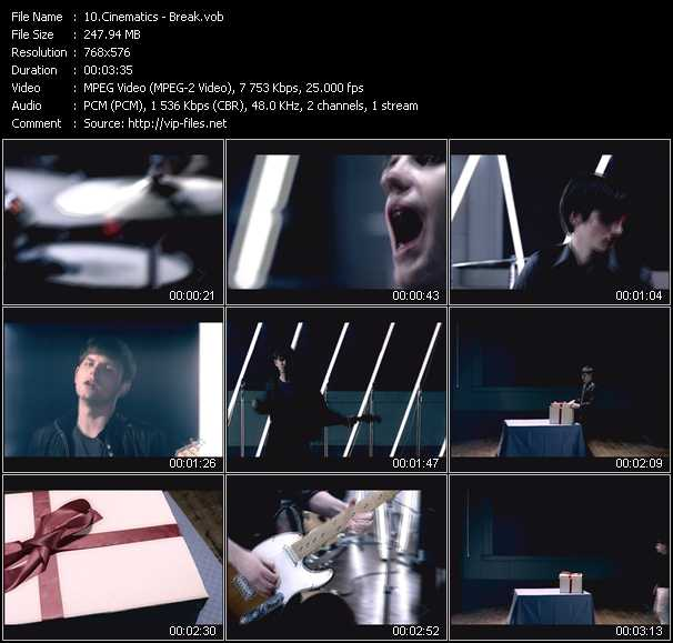 Cinematics video screenshot