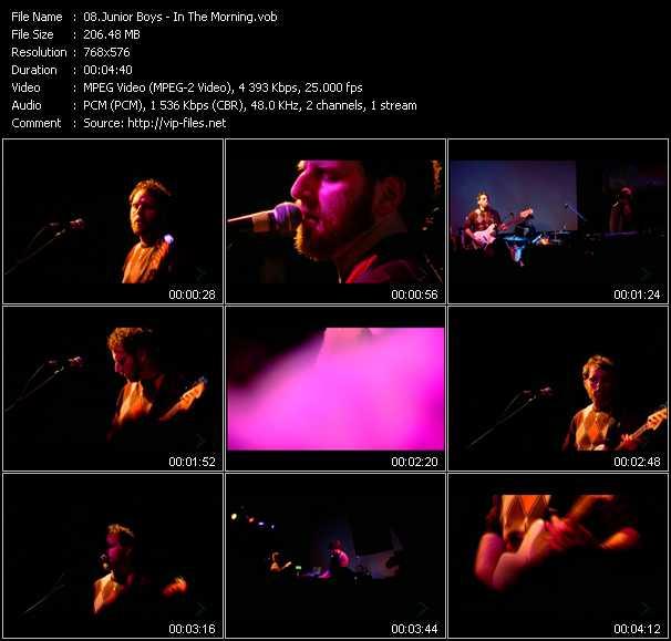 Junior Boys video screenshot