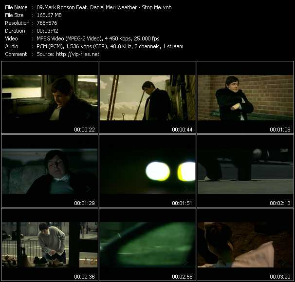 Mark Ronson Feat. Daniel Merriweather video screenshot