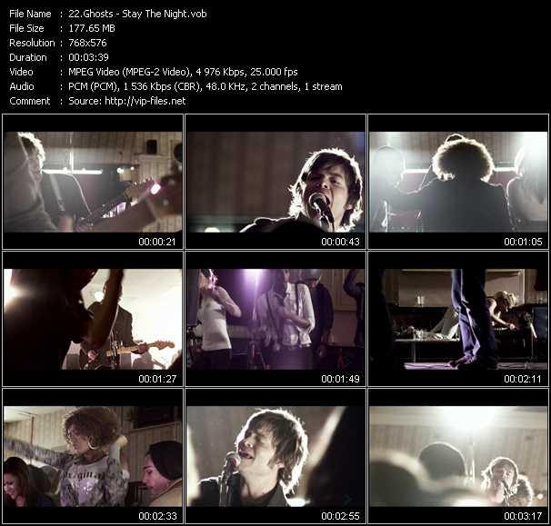 Ghosts video screenshot