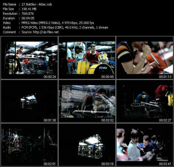 Battles video screenshot