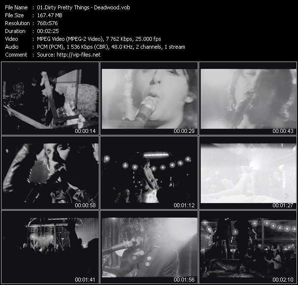 Dirty Pretty Things video screenshot