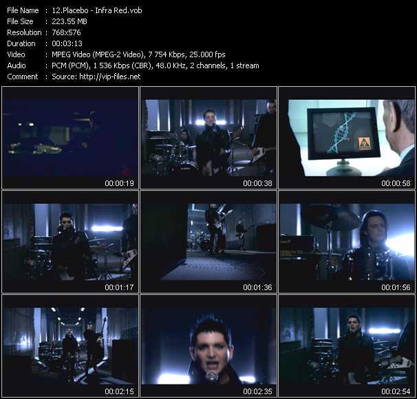 Placebo video screenshot