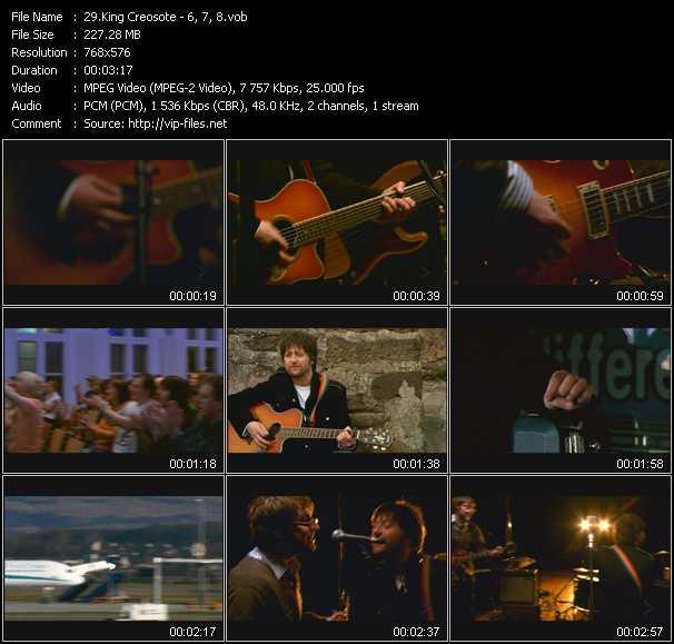 King Creosote video screenshot