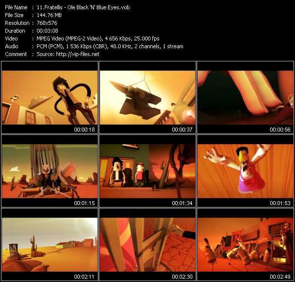 Fratellis video screenshot
