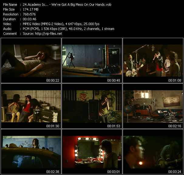 Academy Is... video screenshot