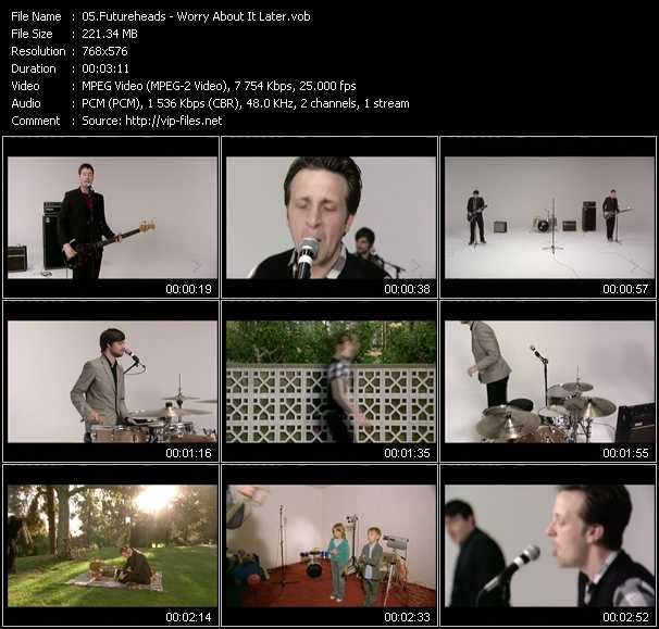 Futureheads video screenshot