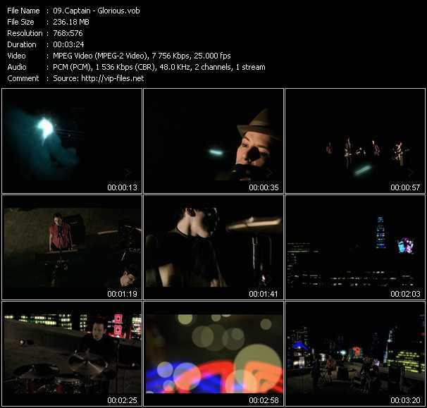 Captain video screenshot