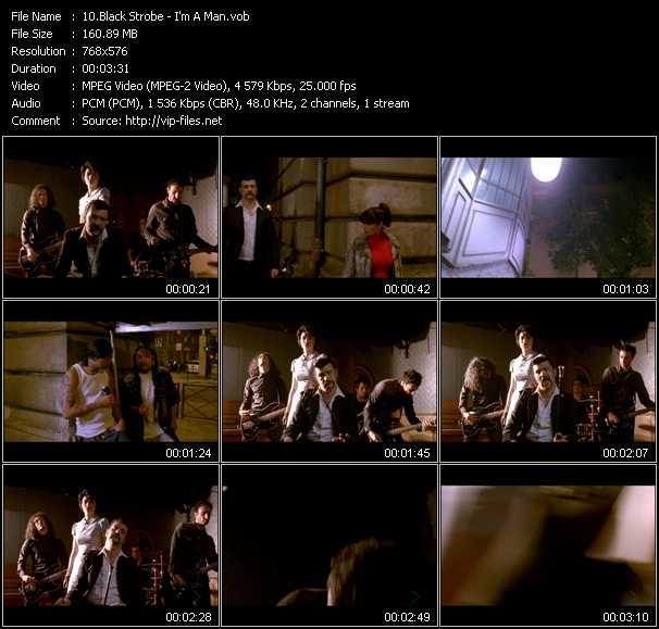 Black Strobe video screenshot