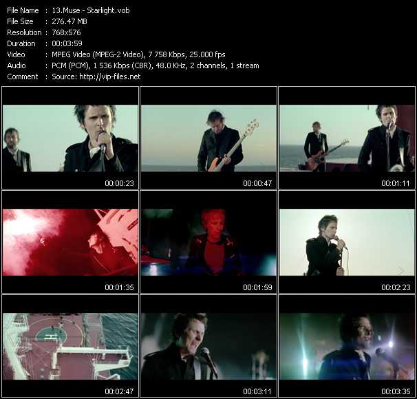Muse video screenshot