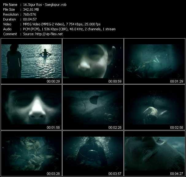 Sigur Ros video screenshot