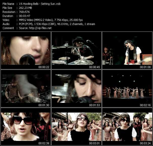 Howling Bells video screenshot