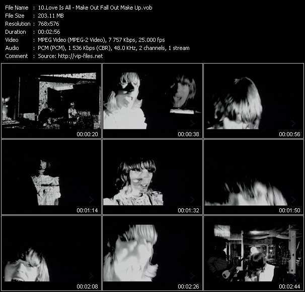 Love Is All video screenshot