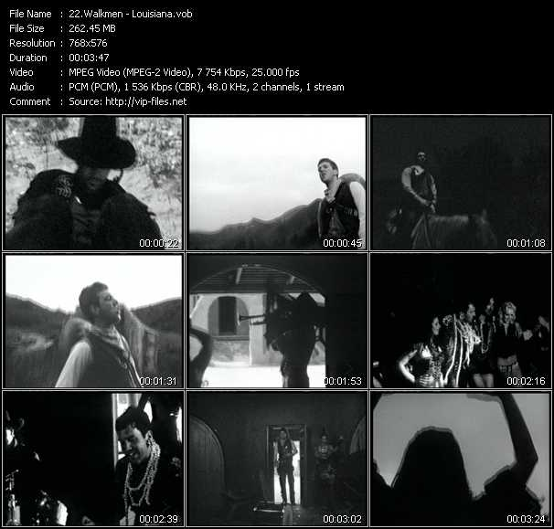 Walkmen video screenshot