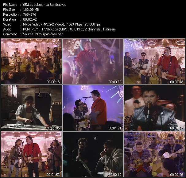 video La Bamba screen