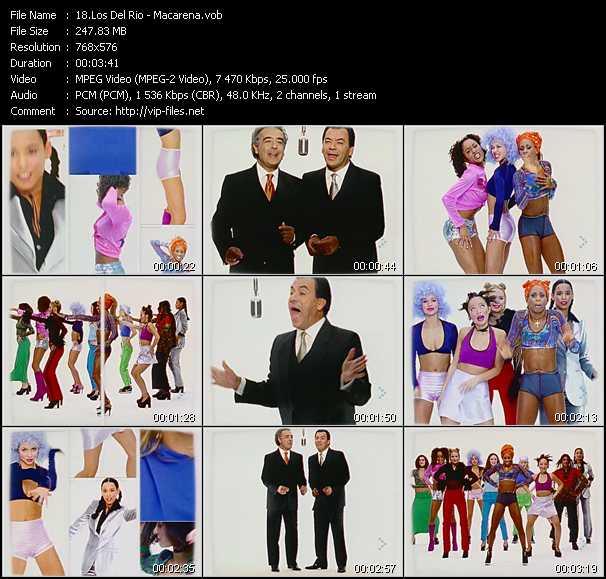 Los Del Rio video screenshot