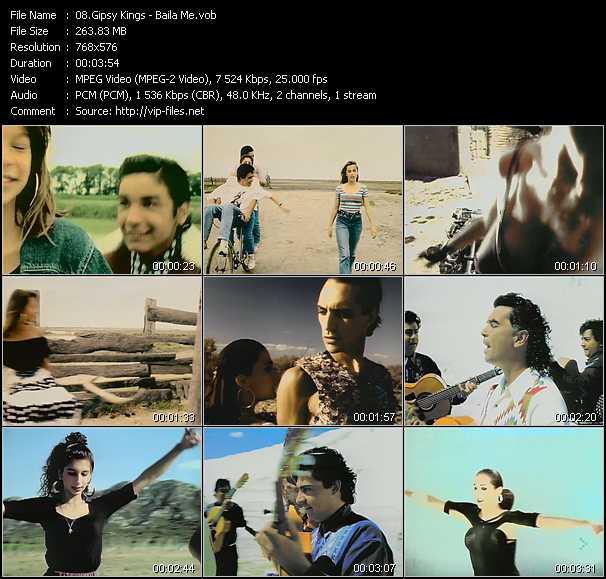 Gipsy Kings video screenshot