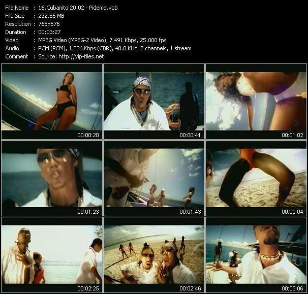 Cubanito 20.02 video screenshot