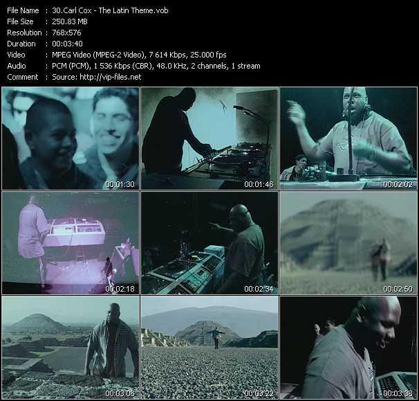Carl Cox video screenshot