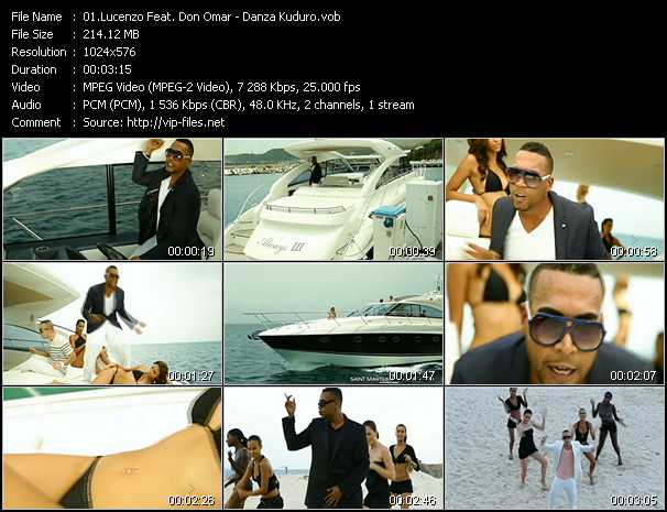 Lucenzo Feat. Don Omar video screenshot