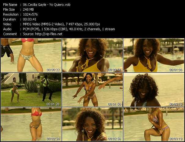 Cecilia Gayle video screenshot