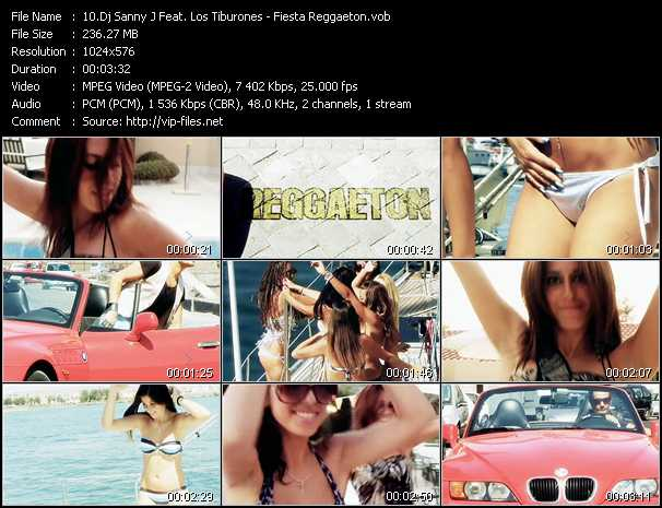 Dj Sanny J Feat. Los Tiburones video screenshot