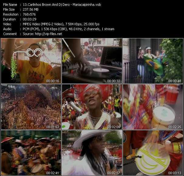 Carlinhos Brown And Dj Dero video screenshot