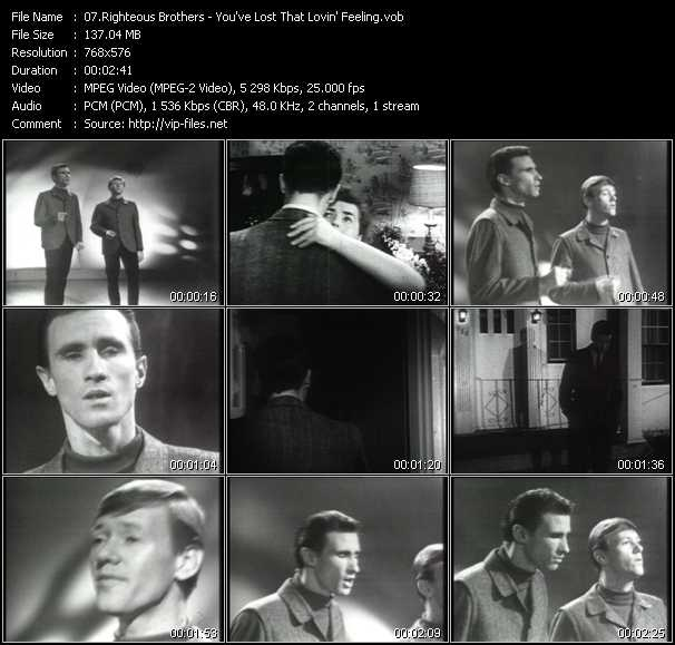Righteous Brothers video screenshot
