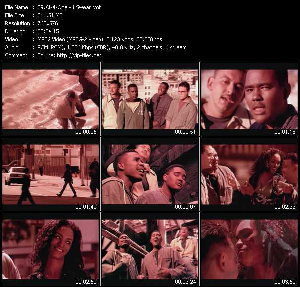 All-4-One video screenshot