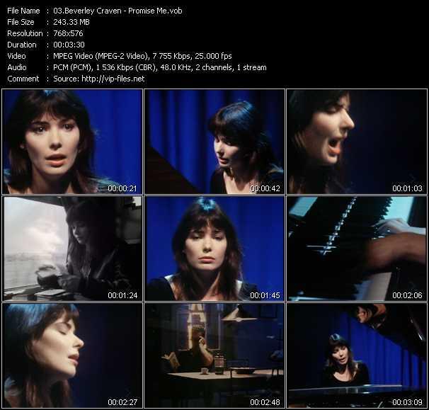 Beverley Craven video screenshot
