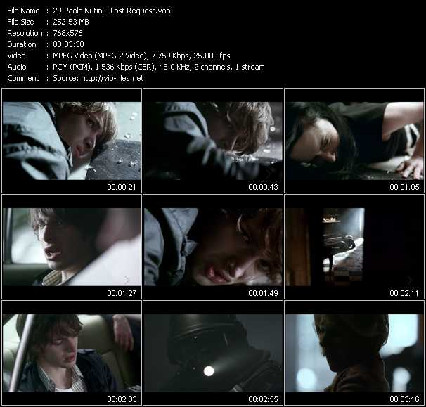 Paolo Nutini video screenshot