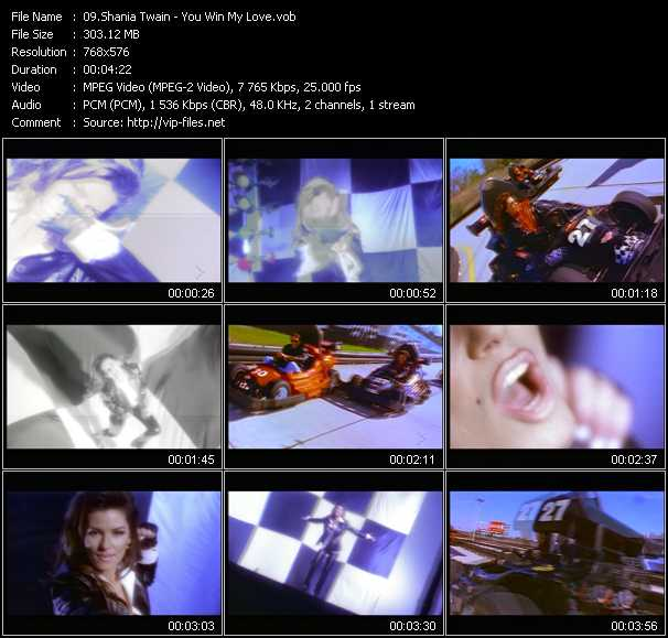 video You Win My Love screen
