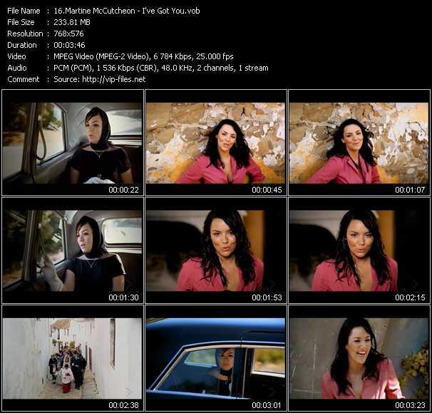 Martine McCutcheon video screenshot