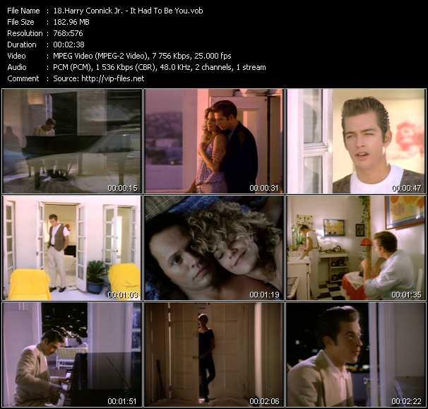 Harry Connick Jr. video screenshot