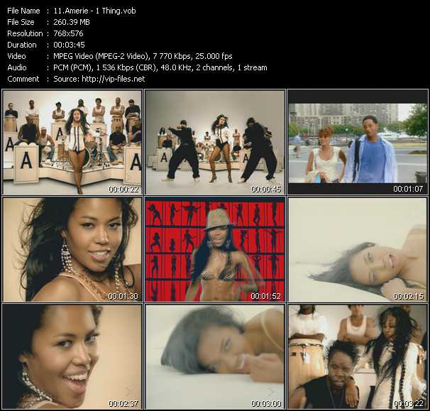 Amerie video screenshot
