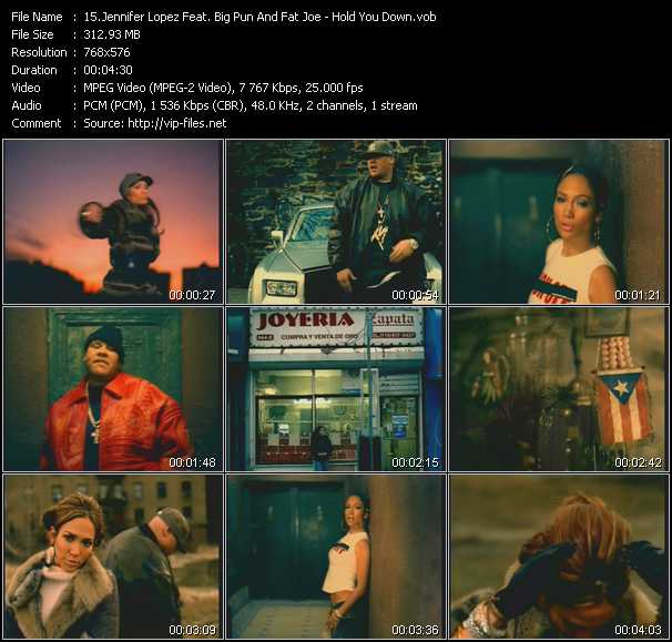Jennifer Lopez Feat. Big Pun (Big Punisher) And Fat Joe video screenshot