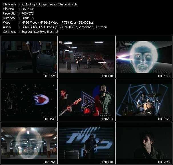 Midnight Juggernauts video screenshot