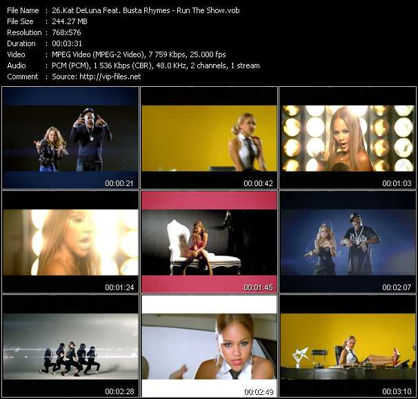 Kat DeLuna Feat. Busta Rhymes video screenshot