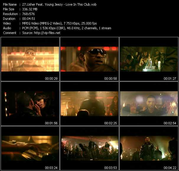 Usher Feat. Young Jeezy video screenshot