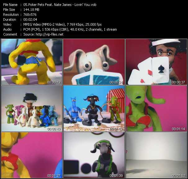 Poker Pets Feat. Nate James video screenshot